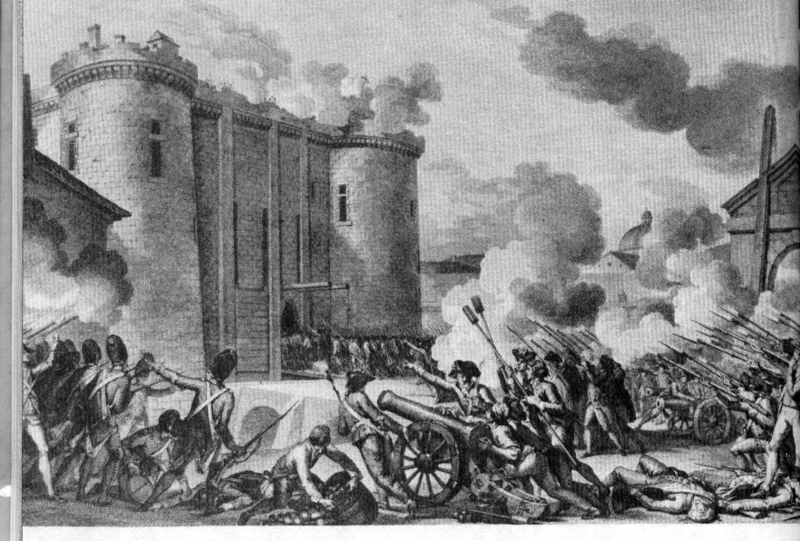The Storming of the Bastille   The Borgia Bull