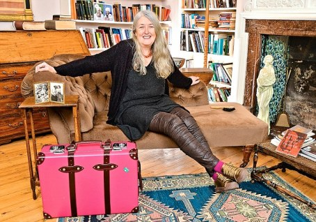 Professor Mary Beard – My Haven-Her room in Newnham Colle