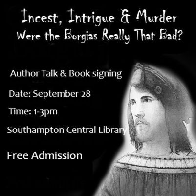 Cesare author talk Sept