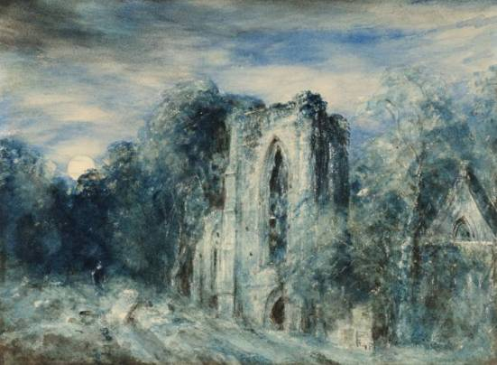 Netley_Abbey_by_Moonlight_by_John_Constable